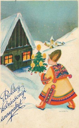 Karácsonyi és újévi üdvözletek hetven éve