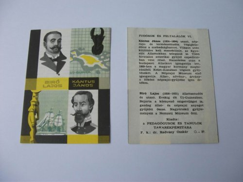 Életrajz sorozat: Bíró Lajos, Xántus János