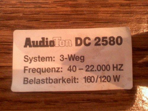 AudioTon / Videoton  DC 2580