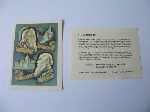 Életrajz sorozat: Schulek Frigyes, Steindl Imre