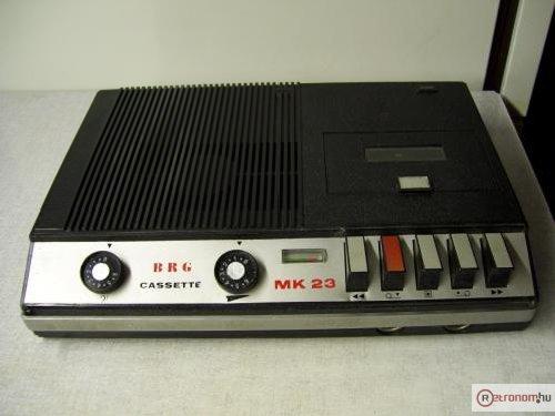 BRG MK-23 fekete működik