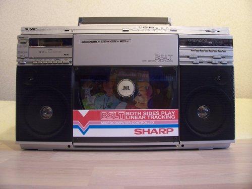 Sharp VZ-2500H rádiómagnó lemezjátszó