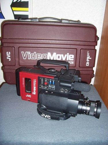 JVC  GR-C1 camcorder - a világ első VHS-C kameramagnója