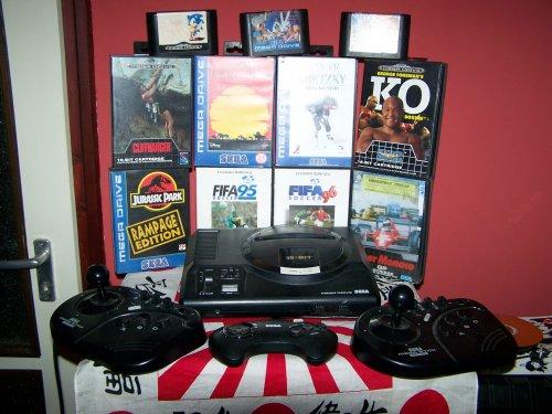Sega Mega Drive gyűjtemény