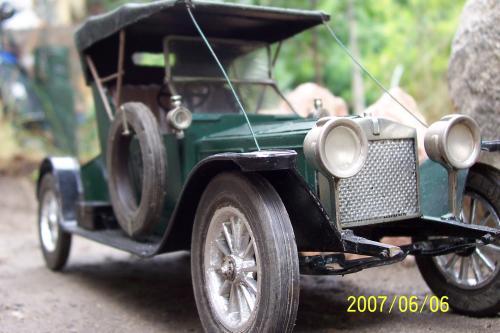 Autó modellek 1890-1970 között ( Rolls Royce Silver Ghost 1910)