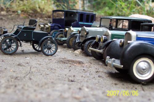 Autó modellek 1890-1970 között 3
