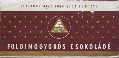 Földimogyorós csokoládé