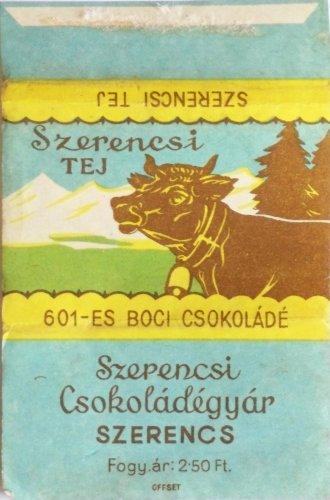 Szerencsi Boci csokoládé