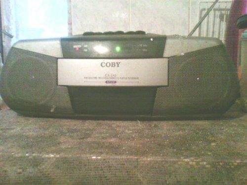COBY rádiós magnó