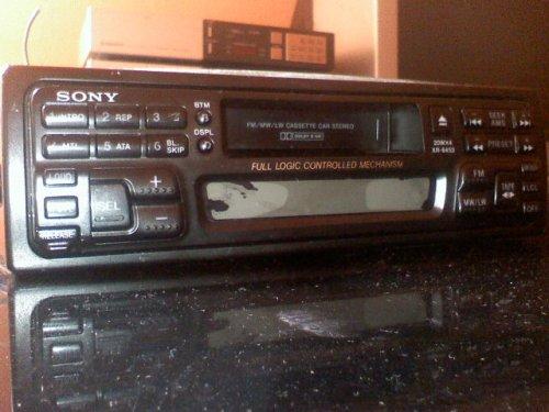 Sony autó rádiósmagnó
