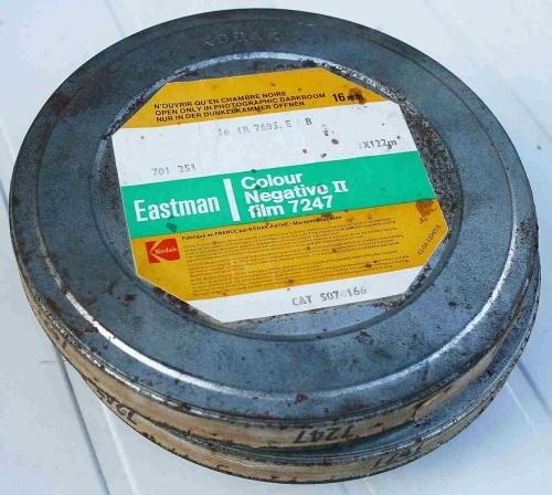 kodak 16mm film doboz
