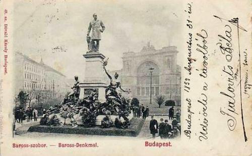 Baross szobor