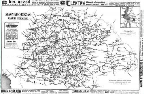 Vasútvonalak a monarchiabeli Magyarországon