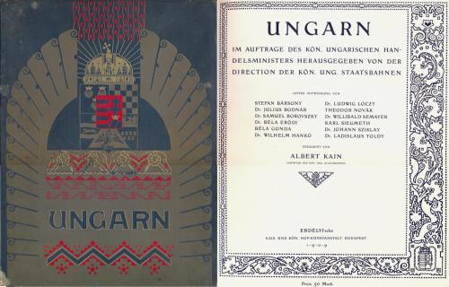 Ungarn - korai idegenforgalmi album