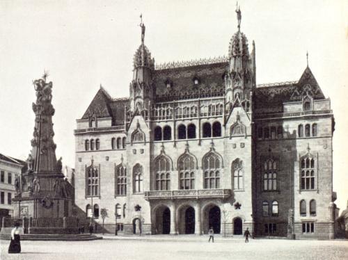Pénzügyminisztérium épülete a Várban