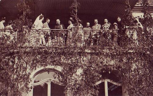 Zita királyné és IV. Károly esküvője