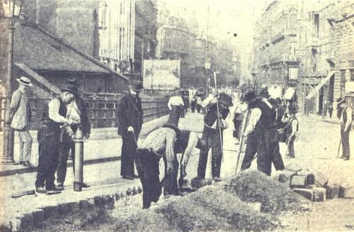 Villamos a Kossuth Lajos utcára