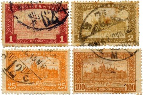 Parlament bélyegsor
