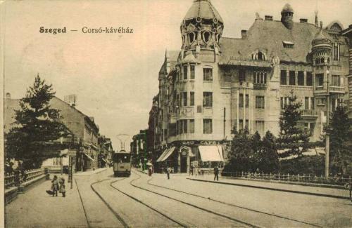 Szeged Corsó kávéház