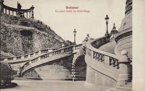 Erzsébet híd Budai hídfő