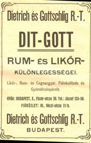 DIT-GOTT Rum és Likőr