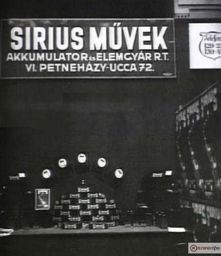 Sirius Művek stand