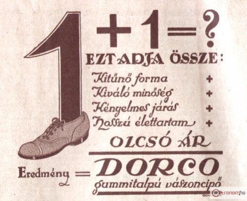Dorco cipő