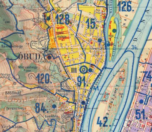 Óbuda-Újlak térképe