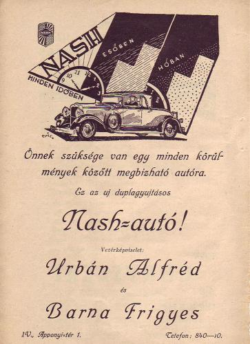 Nash autó