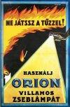 Orion zseblámpa