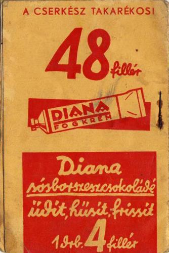 Diana fogkrém