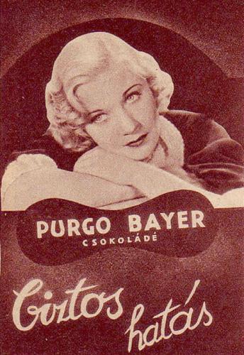 Purgo Bayer csokoládé