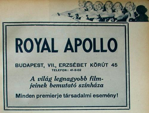 Royal Apolló Filszínház