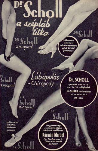 Scholl lábápolás