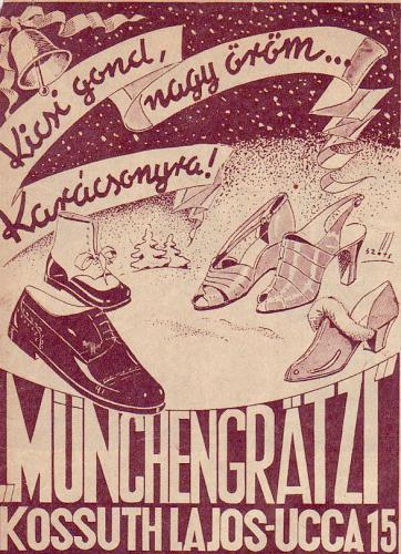 Münchengratzi cipő