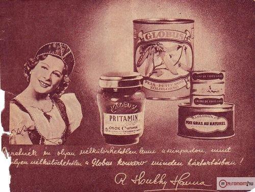 Globus konzerv - Honthy Hanna