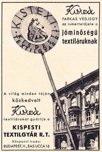 Kistext Kispesti Textilgyár