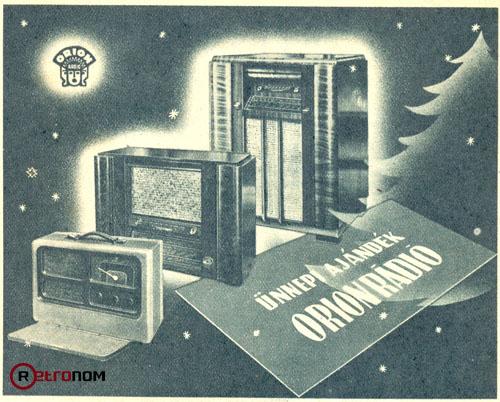 Orion rádió hírdetés