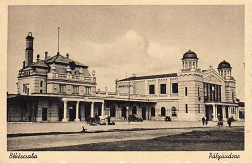 Békéscsaba vasútállomás