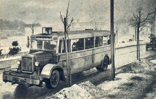 Gázgenerátoros autóbusz
