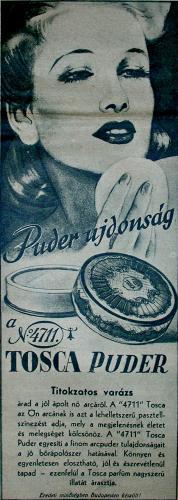 4711 Tosca púder
