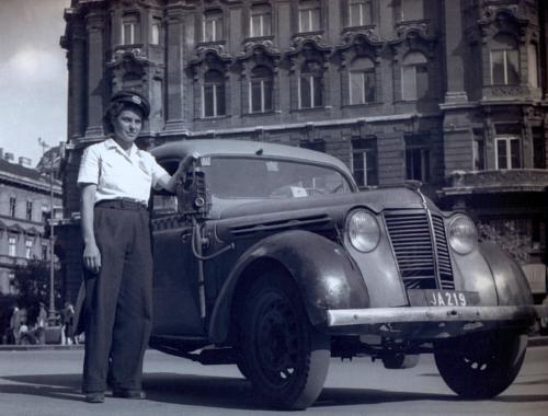 Opel taxi 1951-ben
