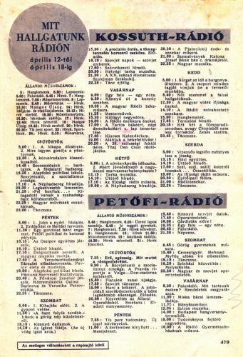 Rádióműsor