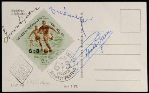 Angol-Magyar képeslap bélyeg