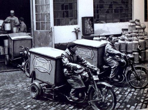 fagylalt szállítás - 1954