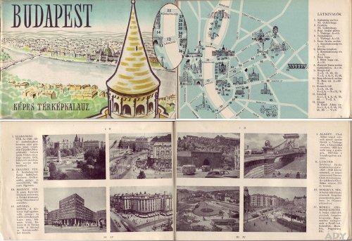 Budapest képes térképkalauz