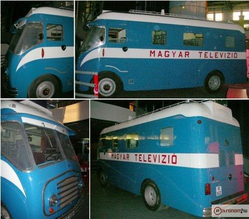 Pye-Morris helyszíni közvetítőkocsi