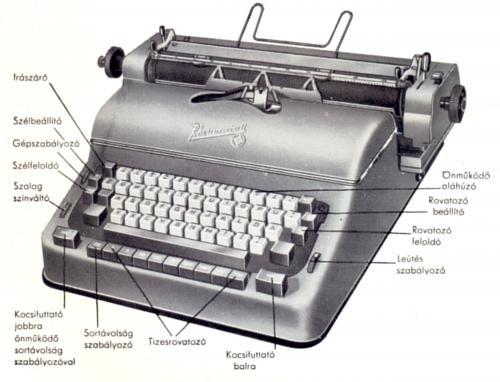 Rheinmetall villamos írógép