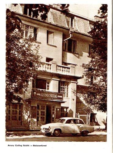 Balatonfüred Aranycsillag szálló