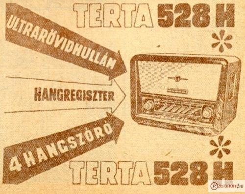 Terta rádió 528H